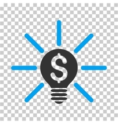 Business idea bulb icon vector