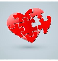 Conceptual Heart Design vector image vector image