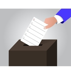 The ballot box vector