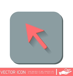 web arrow symbol cursor icon vector image
