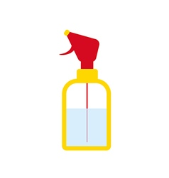 Water spray icon vector