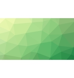 Abstract green gradient lowploly of many vector