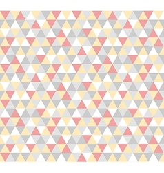Abstract geometric triangle pattern background vector