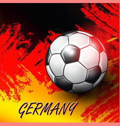 Soccer confederation cup 2017 background vector