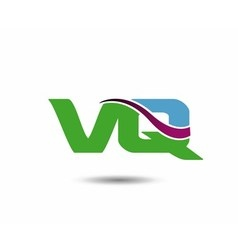 VQ logo vector image vector image
