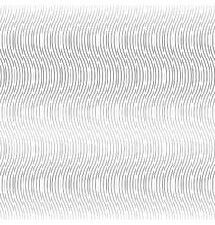 Wave line background vector