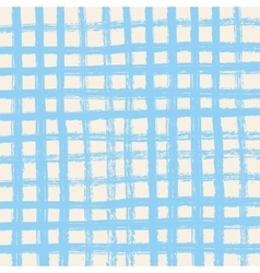 Brush strokes cell square background Brush vector image