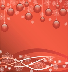 beautiful bright Christmas Wallpaper vector image vector image