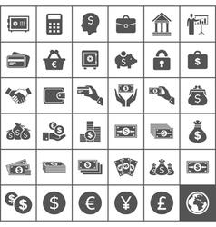 Money an icon4 vector image vector image