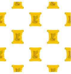 Treasure map pattern flat vector