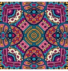 Abstract ethnic colorful seamless pattern vector image vector image
