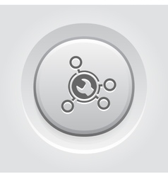 Advanced repair solutions icon vector