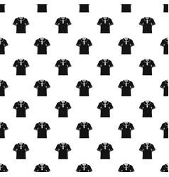 Men polo shirt pattern vector