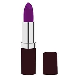 Purple lipstick vector image vector image