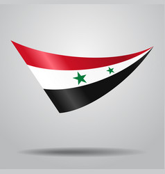 Syrian flag background vector