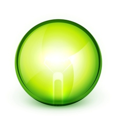 Green energy background vector