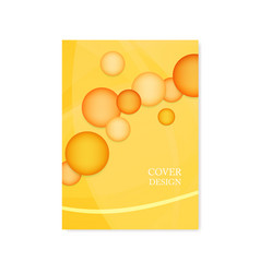 Brochure template layout cover design vector
