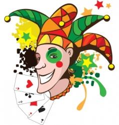 Joker illustration vector