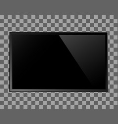 tv blank screen vector image