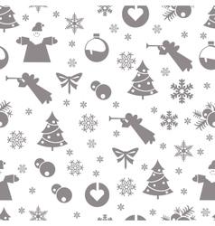 Christmas retro vintage vector image vector image