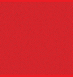 red leather pattern vector image vector image