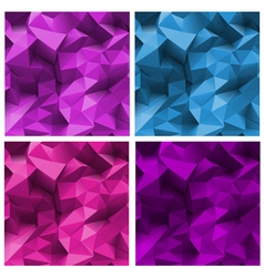 Abstract Triangle Backgrounds vector image