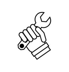 Construction tools symbol vector