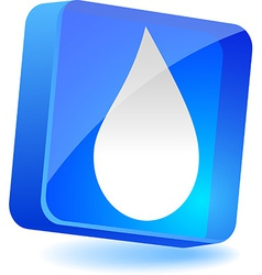 Droplet Icon vector image