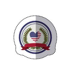 Symbol american seal sign icon vector