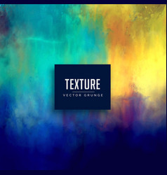 Beautiful texture background made with watercolor vector