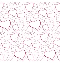 Romantic and sexy background of hearts seamless vector