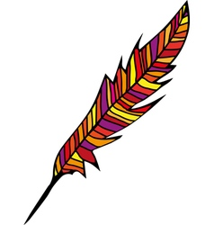 Abstract feather vector