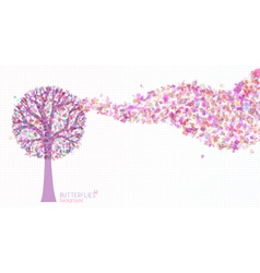 Colourful nature background vector image vector image