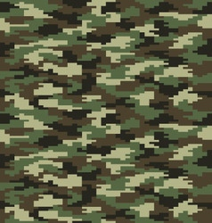 Fashion camouflage seamless vector