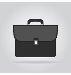 Icon briefcase vector