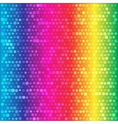 Spectrum rainbow circles colorful background vector