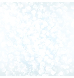White bokeh background vector