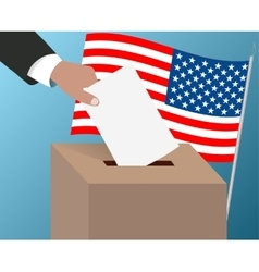 USA elections of the American President vector image