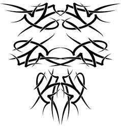 Wings tatoo vector