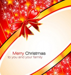 Christmas greetings card vector