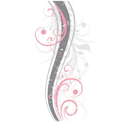 Pink abstraction vector