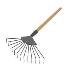 Brush cartoon icon vector
