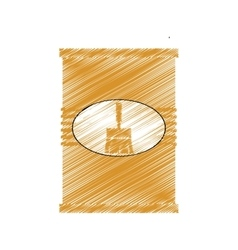 paint pot isolated icon vector image vector image