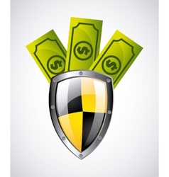 security money vector image