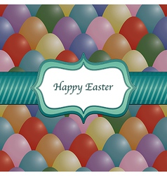 Easter wrapping vector