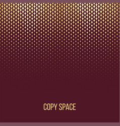 golden particles background vector image