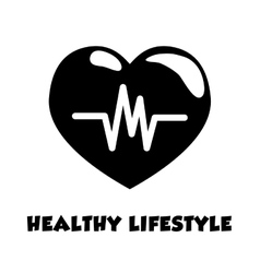 Fitness and healthy lifestyle vector