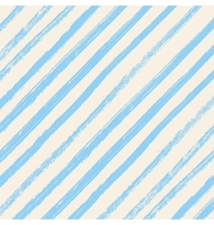 Brush strokes blue diagonal lines isolated on vector