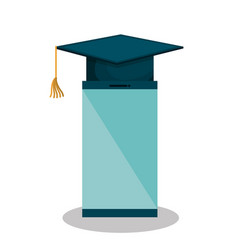 Education online flat icons vector