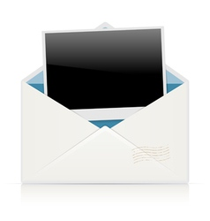 envelope photo vector image vector image